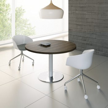 Mito Meeting Table MIT17, Dark Sycamore