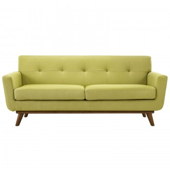 Engage Upholstered Loveseat, Wheatgrass by Modway