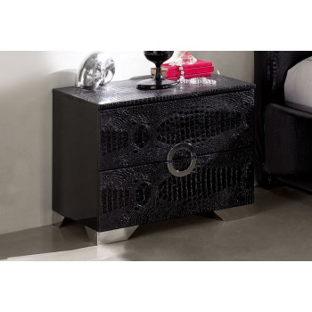 Coco M97 Nightstand, Black