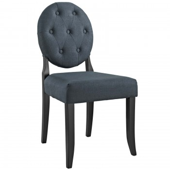 Button Dining Side Chair, Gray by Modway
