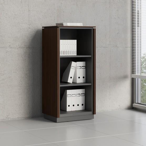 Status Open Storage Cabinet X39, Chestnut photo