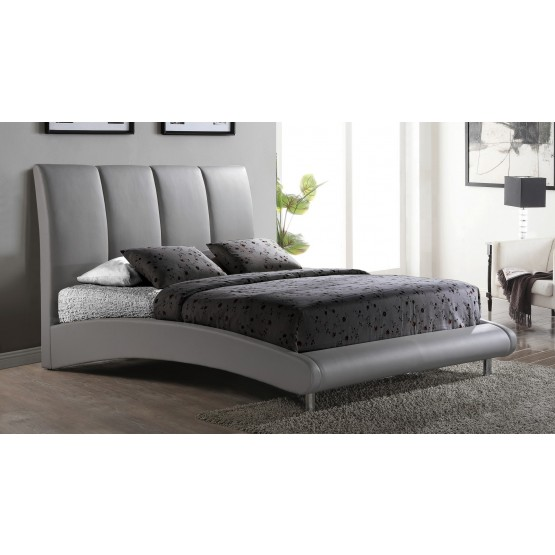 8272 King Size Bed, Grey photo
