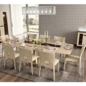 Ambra Dining Room Set w/Medium Dining Table