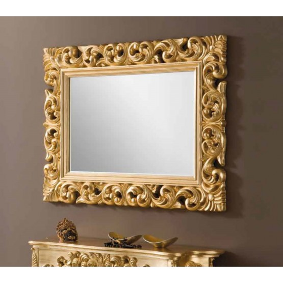 PU-049 Small Mirror, Gold photo