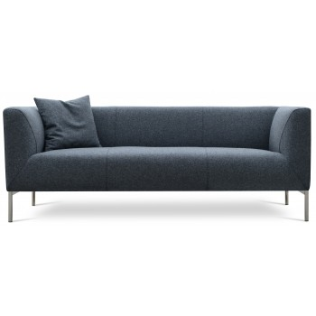 Laguna Sofa, Dark Grey Camira Wool by SohoConcept Furniture