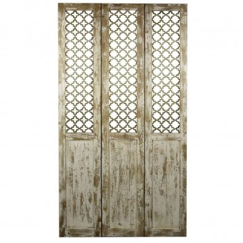 Tuscany Geometric Screen w/3 Panels by NPD (New Pacific Direct)