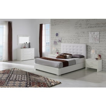 620 Eva 3-Piece Euro Queen Size Bedroom Set