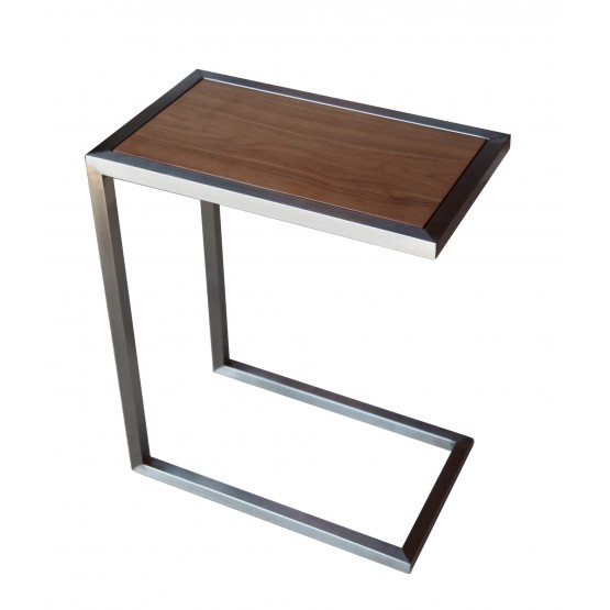 Alfa End Table, Walnut photo