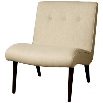 Alexis Fabric Chair, Flax by NPD (New Pacific Direct)