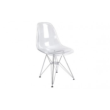 DC-231 Dining Chair, Clear