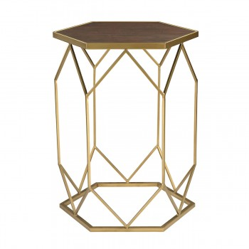 Hexagon Frame Side Table