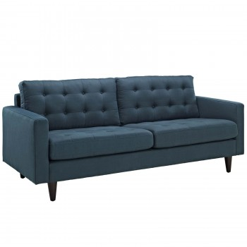 Empress Upholstered Sofa, Azure by Modway