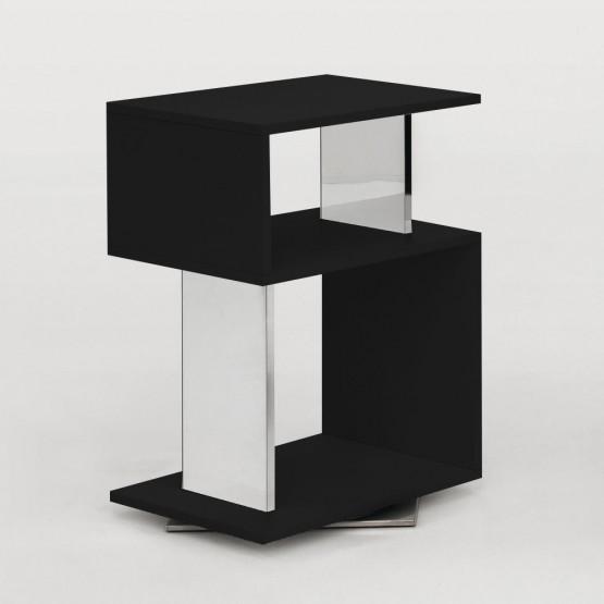 Airone Side Table, Matt Black photo
