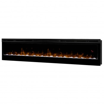 """Prism Series 74"""" Wall-mount Fireplace"""