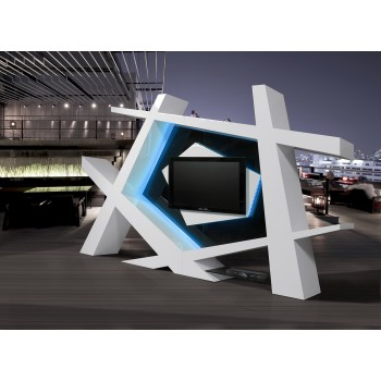 Strada Premium Wall Unit by J&M Furniture