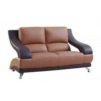 U982 Loveseat, Brown by Global Furniture USA