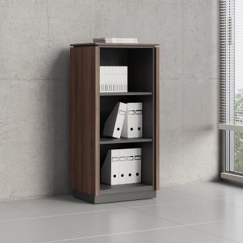 Status Open Storage Cabinet X39, Lowland Nut