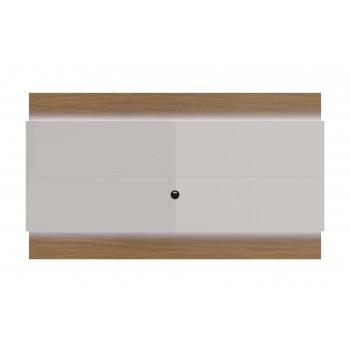 """Lincoln 75.51"""" TV Panel, Maple Cream + Off White"""