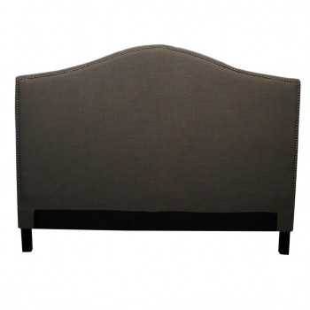 Chloe King Fabric Headboard, Umber by NPD (New Pacific Direct)
