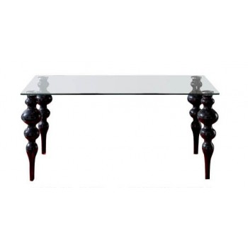767 Big Dining Table, Black