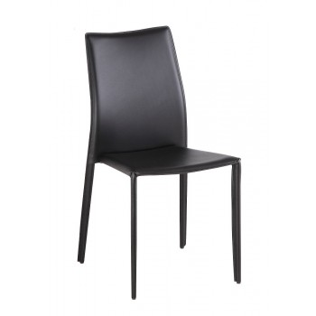 C031B Dining Chair, Black, Set of 4 by J&M Furniture