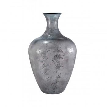 """Chloe Vase 25.6"""", Grey"""