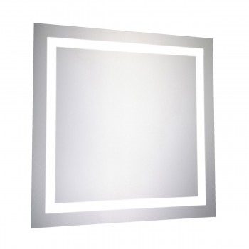 "Nova MRE-6010 Square LED Mirror, 28"" x 28"""