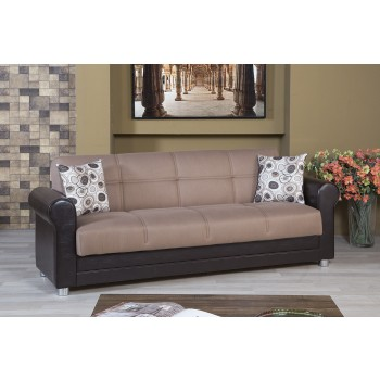 Avalon Sofa, Prusa Brown by Casamode