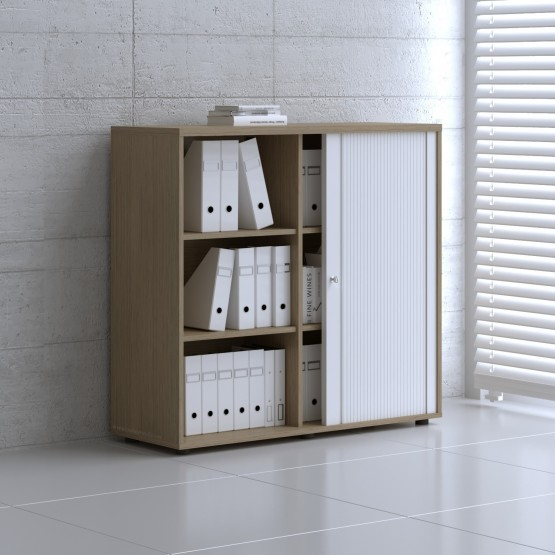 Tambour Pro Storage Unit IA3L06, Canadian Oak + White Front photo