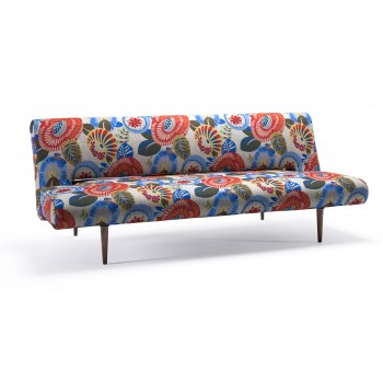Unfurl Sofa Bed, 680 Wild Flower Tropical Fabric