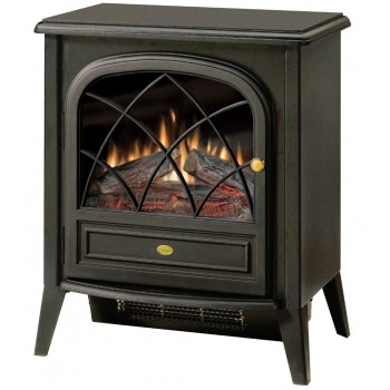 Compact Electric Stove, Matte Black