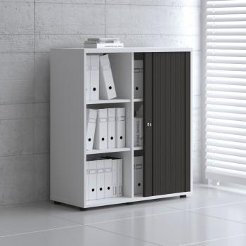 Tambour Pro Storage Unit IA3L05, White + Black Front