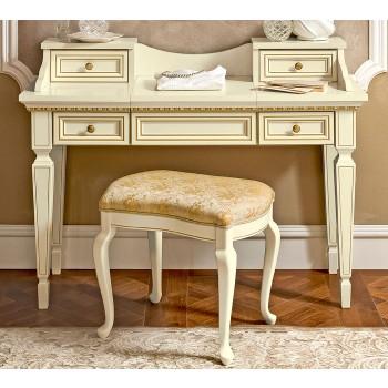 Treviso Vanity Dresser, White Ash