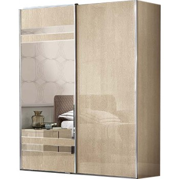 Ambra 2 Sliding Door Wardrobe w/Mirror