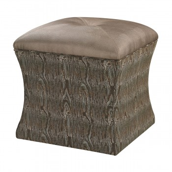 Luxe Ottoman In Green