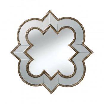 Creighton French Spire Mirror In Aztec Silver