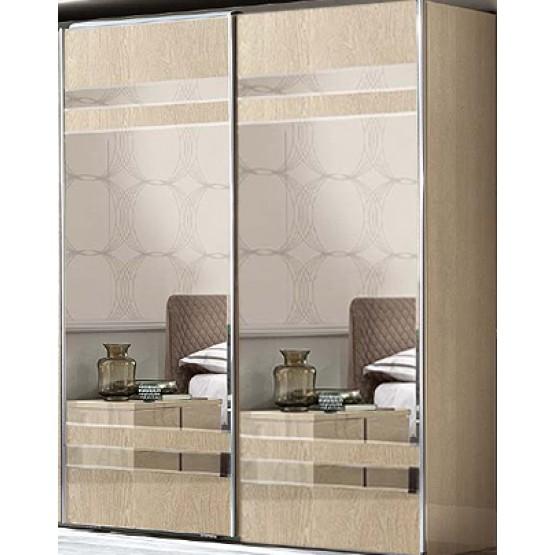 Ambra 2 Sliding Mirrored Doors Wardrobe photo