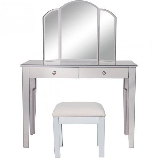 Contempo MF6-2012S Vanity Table Set photo