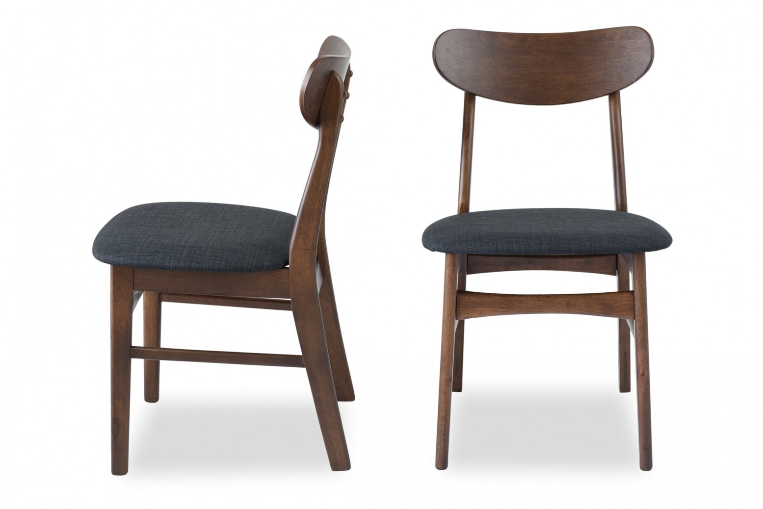 Amazing Gramercy Mid Century Modern Dining Chair Set Of 2 Ncnpc Chair Design For Home Ncnpcorg