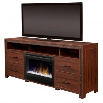 Thom Media Console Electric Fireplace, Acrylic Ice (DFR2551) Firebox