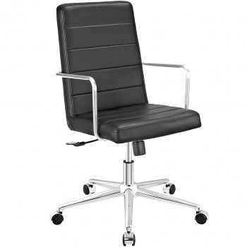 Cavalier Highback Office Chair, Black by Modway