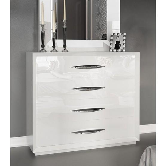 Carmen Single Dresser, White photo