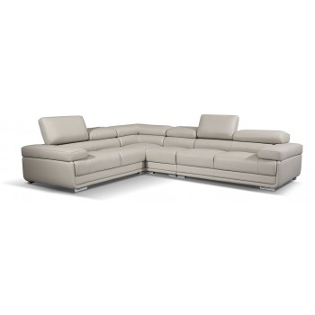 2119 Sectional, Light Grey