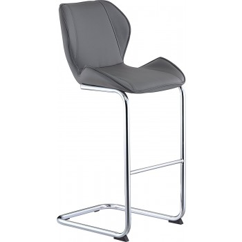 D1446BS Barstool, Grey