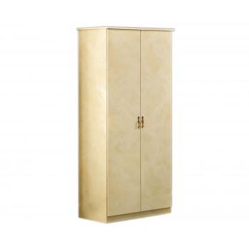 Barocco 2-Door Wardrobe, Ivory