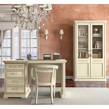 Torriani 2-Piece Office Set, Composition 1, Ivory