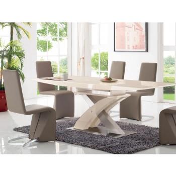 2122 Dining Room Set, Composition 1, Beige