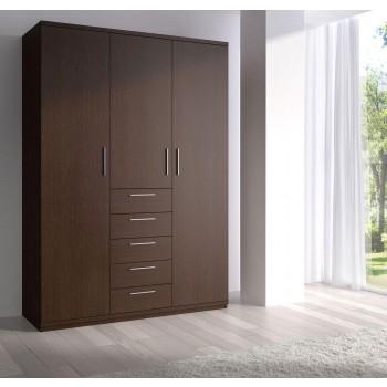 112 3-Door Wardrobe