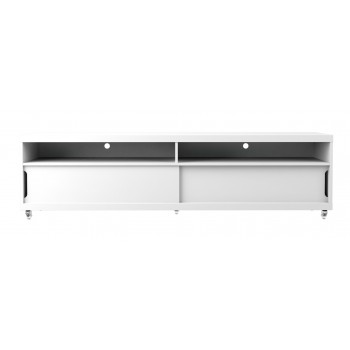 "Batavia 70.86"" TV Stand, White Gloss"