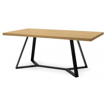 """Archie 78"""" Table, Wild Oak"""